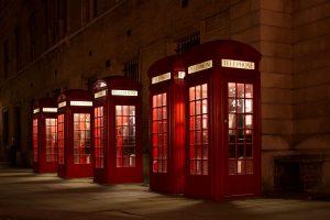 Telephoning